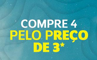 Compre 4 pelo preço de 3 em lista especial de Dia das Crianças no site da Netshoes