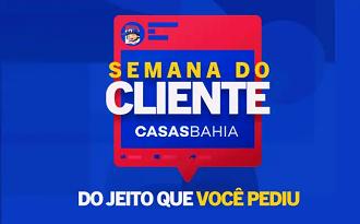 Cupom Casas Bahia de até 30% OFF na Semana do Cliente com até 70% OFF no site