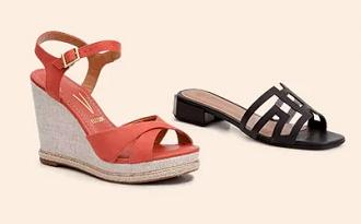 Leve 3 e Pague 2 em seleção de Calçados Femininos no site da Marisa
