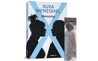 Cupom Americanas de 10% OFF no lançamento do livro Memórias de Xuxa Meneghel no site