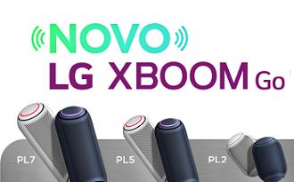 Ganhe R$200 OFF em sua nova LG XBOOM GO 30W no site da Fast Shop