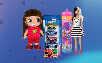 Cupom Americanas de 25% OFF em seleção de Brinquedos no site