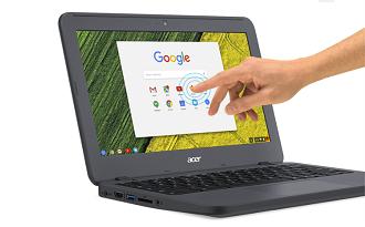Cupom Acer de R$100 OFF em Chromebook Acer com 4 GB de RAM e Chrome OS no site