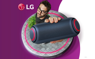 Ganhe R$100 OFF em sua nova LG XBOOM GO no site da Fast Shop