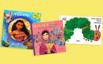 Livros Infantis com até 50% OFF no site da Amazon