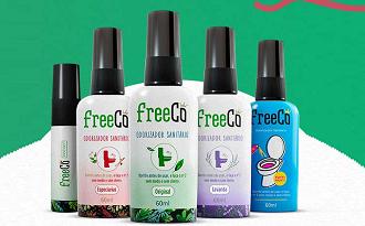 Cupom FreeCô de 10% OFF para primeira compra no site