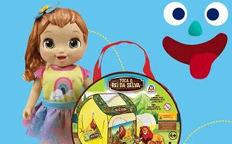 Cupom Casas Bahia de até 30% OFF para os Presentes de Dia das Crianças no site