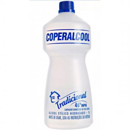 Álcool Líquido da marca Coperalcool 1L com 20% de desconto!