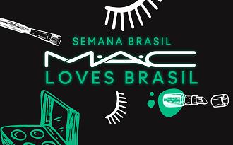Seleção Semana do Brasil com até 40% OFF + Brinde especial no site da MAC Cosmetics
