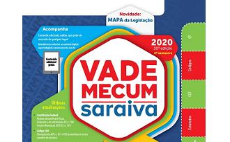 Cupom Submarino de 15% OFF no livro Vade Mecum Saraiva 2020 - 2º Semestre no site