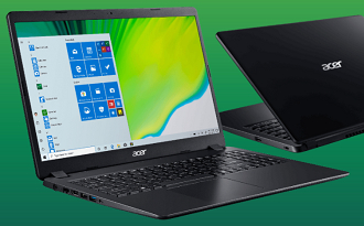 Cupom Acer de R$300 OFF em Notebook Acer Aspire 3 com AMD Ryzen 7 e 256GB SSD no site