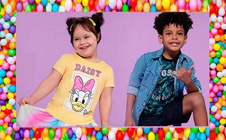 Leve 4 e Pague 3 em coleção Moda Infantil para o Dia das Crianças no site da Marisa